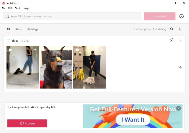 How to Download TikTok Videos Using Qoob Clips