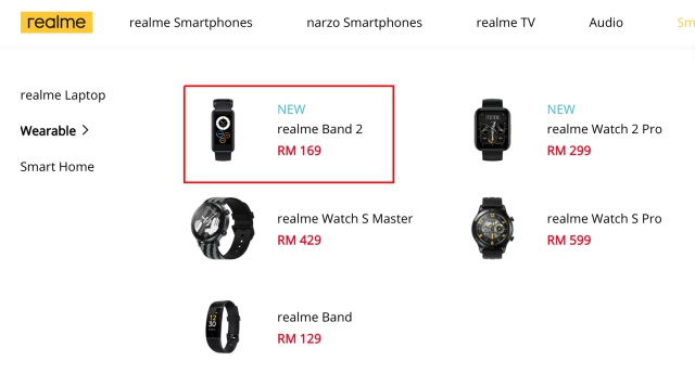 Realme Band 2 to Launch in Malaysia Tomorrow; Official Price Leaks Ahead of Launch