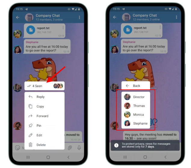 Telegram Update Adds Chat Themes, Video Call Recording, and More