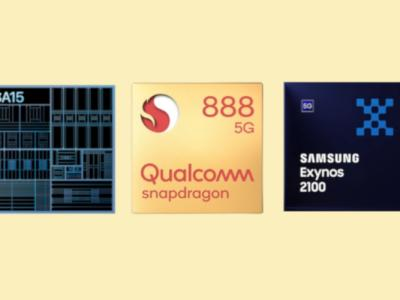 A15 Bionic vs Snapdragon 888 vs Exynos 2100: Best Smartphone Processor