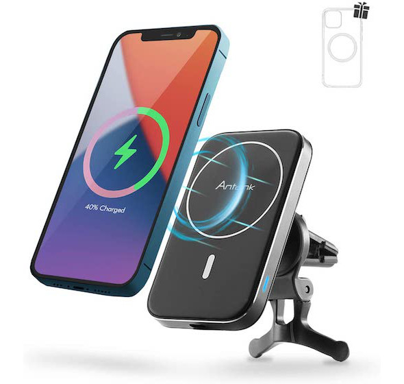 Antank Magnetic Wireless Car Charger Mount