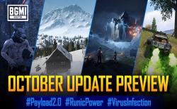 BGMI v1.6.5 October Update to Include Runic Power, Payload 2.0, Virus Infection, and More