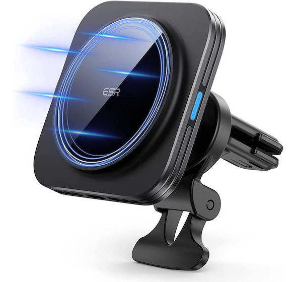 ESR HaloLock Magnetic Wireless Car Charger Mount