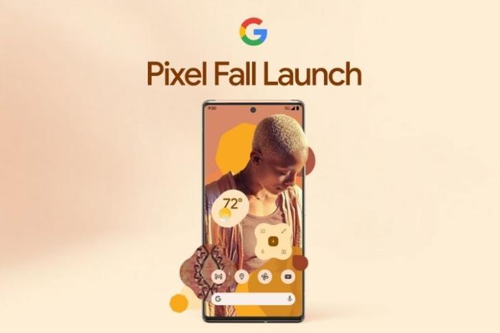 Google Pixel 6 launch event date