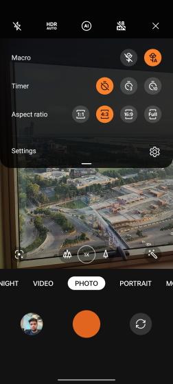 ColorOS camera app OxygenOs 12 feature