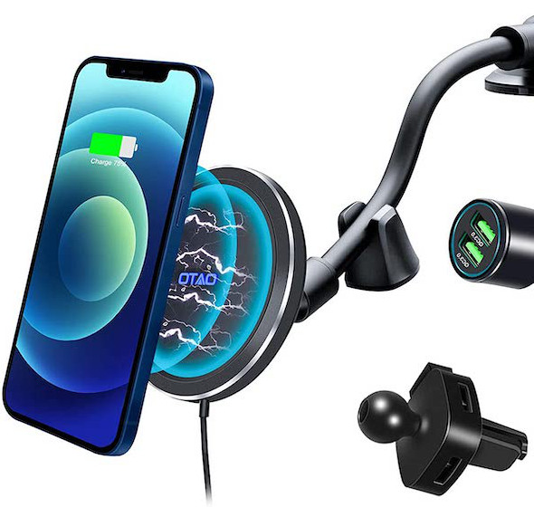OTAO Magnetic Car Charger Mount