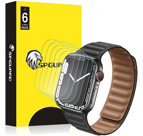 SPGUARD Screen Protector for Apple Watch Series 7