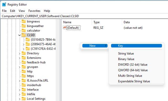 Restore Old Context Menu on Windows 11 (Manual Method)