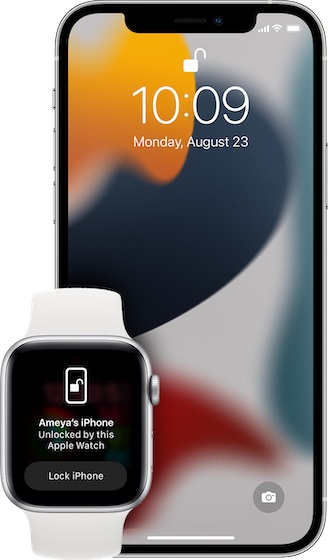 Unlock iPhone with Apple Watch when wearing a mask - iOS 15 Problems and solutions