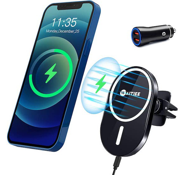WAITIEE Magnetic Wireless Car Charger Mount