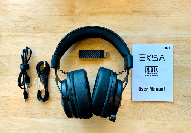 EKSA E910 Wireless Gaming Headset: Surround Sound, Low Latency, and More at an Affordable Price