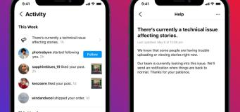 instagram technical issue warning
