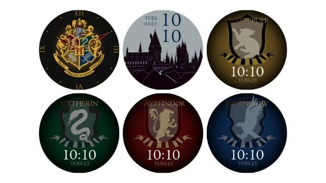 tampilan jam tangan oneplus harry potter edition
