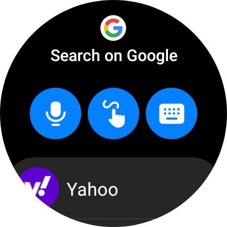 recherche sur Google