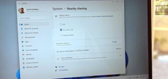 what is nearby sharing and how to enable it on windows 11